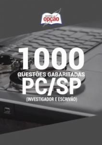 Caderno Testes Pc Sp Investigador E Escrivão 2020 1000 Questões Gabaritadas