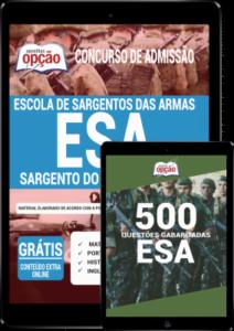 Combo Digital Esa 2020 Sargento Do Exército Cfs Apostila Digital Caderno De Questões Pdf