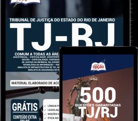 Combo Digital TJ-RJ 2020 – Comum a Todas as Áreas de Analista Judiciário (Apostila Digital + Caderno de Questões PDF)