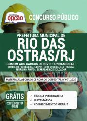 Apostila Prefeitura De Rio Das Ostras-Rj 2020 – Comum Aos Cargos De Nível Fundamental