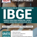 Apostila Ibge 2020 – Agente Censitário Municipal (Acm) E Agente Censitário Supervisor (Acs)