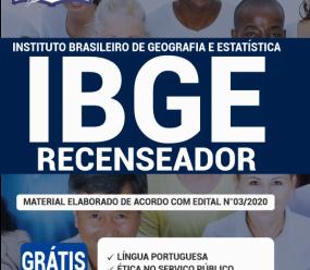 Apostila Ibge 2020 – Recenseador