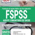 Apostila Fspss-Sp 2020 – Agente Comunitário De Saúde