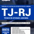Apostila Tj-Rj 2020 – Técnico De Atividade Judiciária