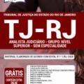 Apostila Tj-Rj 2020 – Analista Judiciário – Grupo: Nível Superior – Sem Especialidade