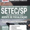 Apostila Setec-Sp 2020 – Agente De Fiscalização