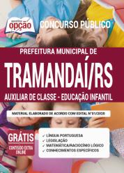Apostila Prefeitura De Tramandaí – Rs 2020 – Auxiliar De Classe – Educação Infantil