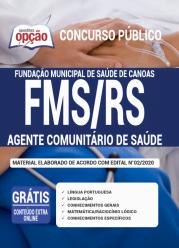 Apostila Fms-Rs 2020 – Agente Comunitário De Saúde