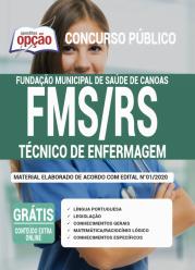 Apostila Fms-Rs 2020 – Técnico De Enfermagem