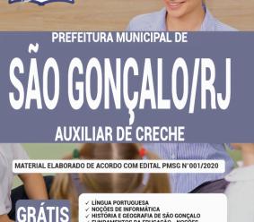 Apostila Prefeitura De São Gonçalo – Rj 2020 – Auxiliar De Creche