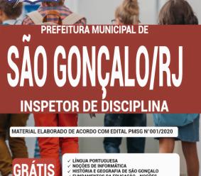 Apostila Prefeitura De São Gonçalo – Rj 2020 – Inspetor De Disciplina
