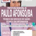 Apostila Prefeitura de Paulo Afonso – BA 2020 – Técnico em Serviços de Saúde – Técnico em Enfermagem