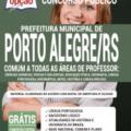 Apostila Prefeitura de Porto Alegre – RS 2020 – Comum a Todas as Áreas de Professor