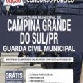 Apostila Prefeitura de Campina Grande do Sul – PR 2020 – Guarda Civil Municipal