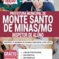 Apostila Prefeitura de Monte Santo de Minas – MG 2020 – Inspetor de Aluno