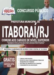 Apostila Prefeitura de Itaboraí -RJ – 2020 – Comum aos Cargos de Nível Superior