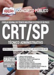 Apostila CRT-SP – 2020 – Técnico Administrativo