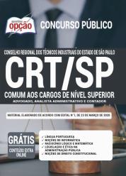 Apostila CRT-SP – 2020 – Comum aos Cargos de Nível Superior