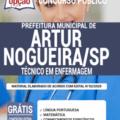 Apostila Prefeitura de Artur Nogueira – SP 2020 – Técnico de Enfermagem