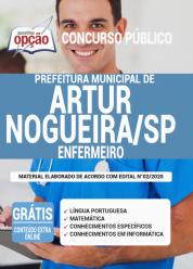 Apostila Prefeitura de Artur Nogueira – SP 2020 – Enfermeiro